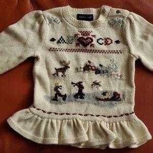 Ralph Lauren holiday sweater